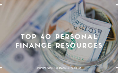 Top 40 Personal Finance Resources