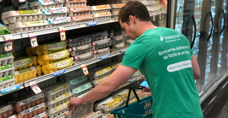 Experiments in Financial Independence with Instacart