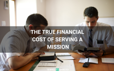 The True Financial Cost of Serving A Mission