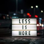 Less Is More | Simplifinances