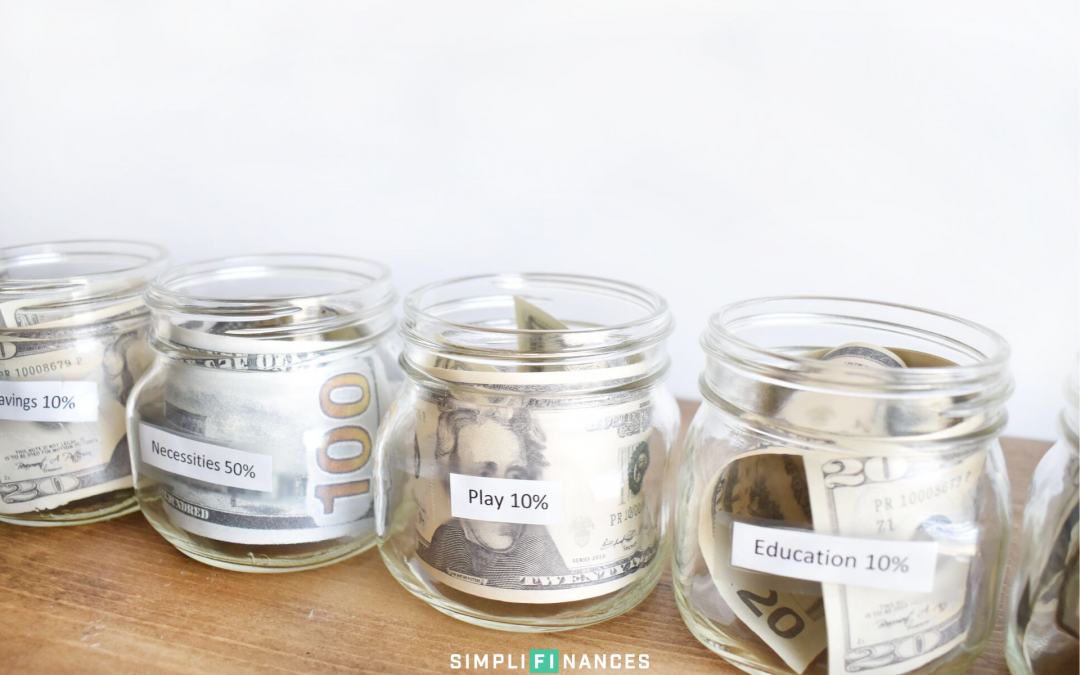 Using the Money Jars System to Manage Your Money