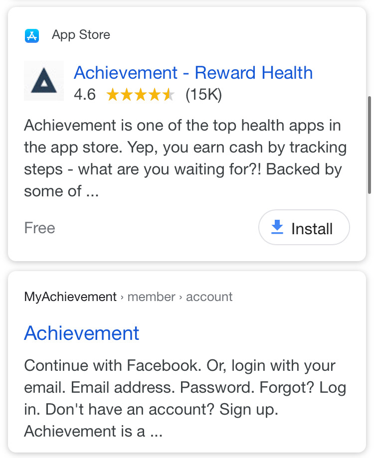 Sign up for the Achievement App | Simplifinances