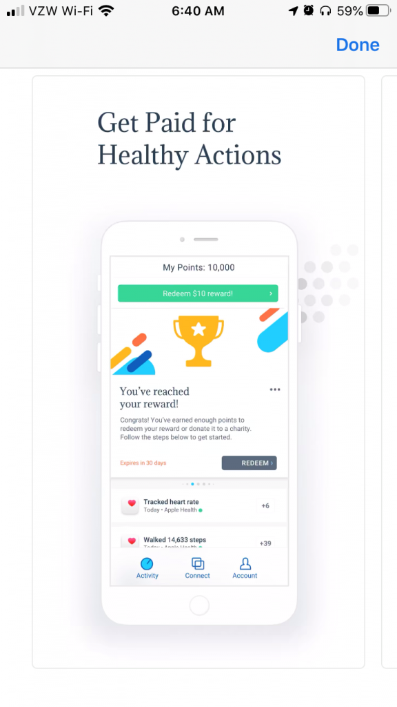 Get Paid for Healthy Actions | The Achievement App | Simplifinances