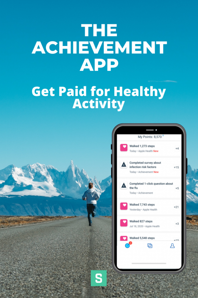 The Achievement App: Get Paid for Healthy Activity | Simplifinances